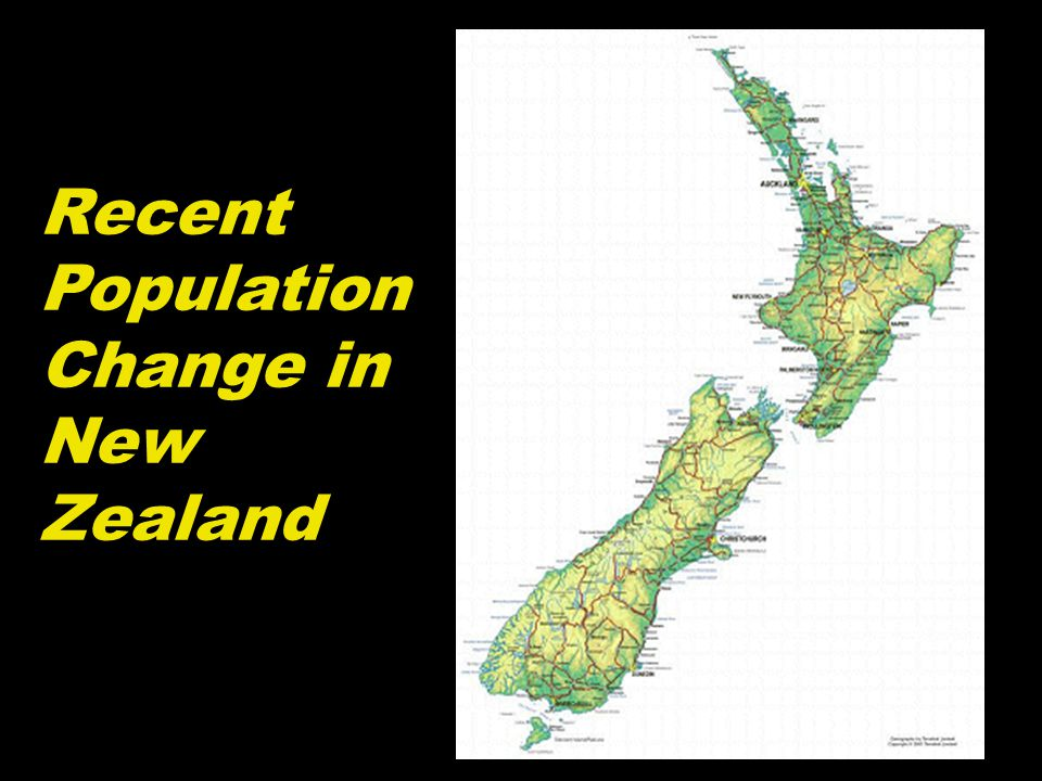 Recent Population Change in New Zealand