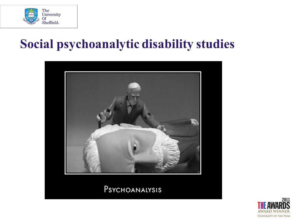 Social psychoanalytic disability studies