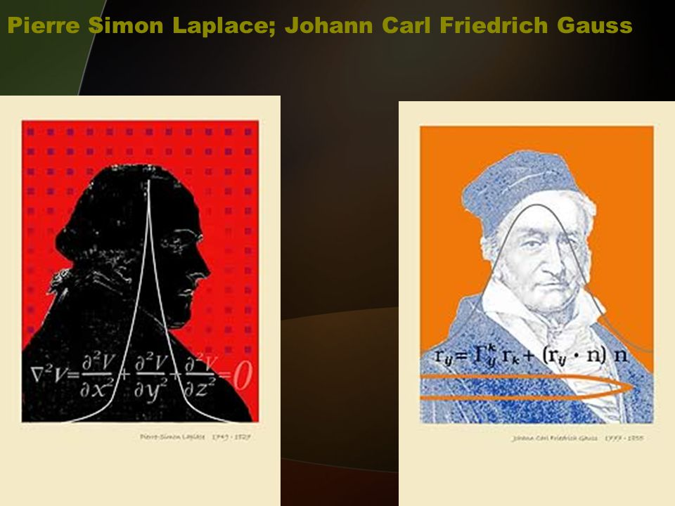 Pierre Simon Laplace; Johann Carl Friedrich Gauss