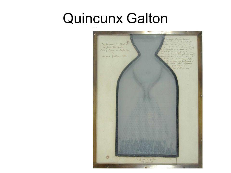 Quincunx Galton