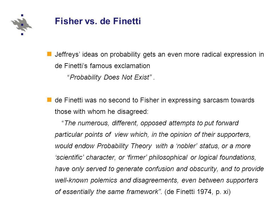 Fisher vs.
