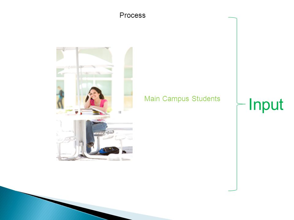 Input Main Campus Students Process
