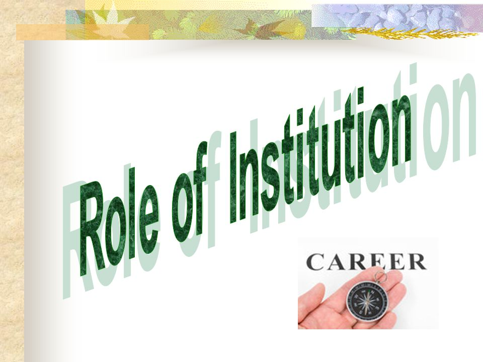 Career and Future planning is the main route which leads a person to the right path of success and honour to secure his/her future.
