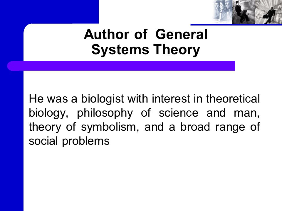 Organismic System Theory Defined the fundamental laws of biological systems at all levels