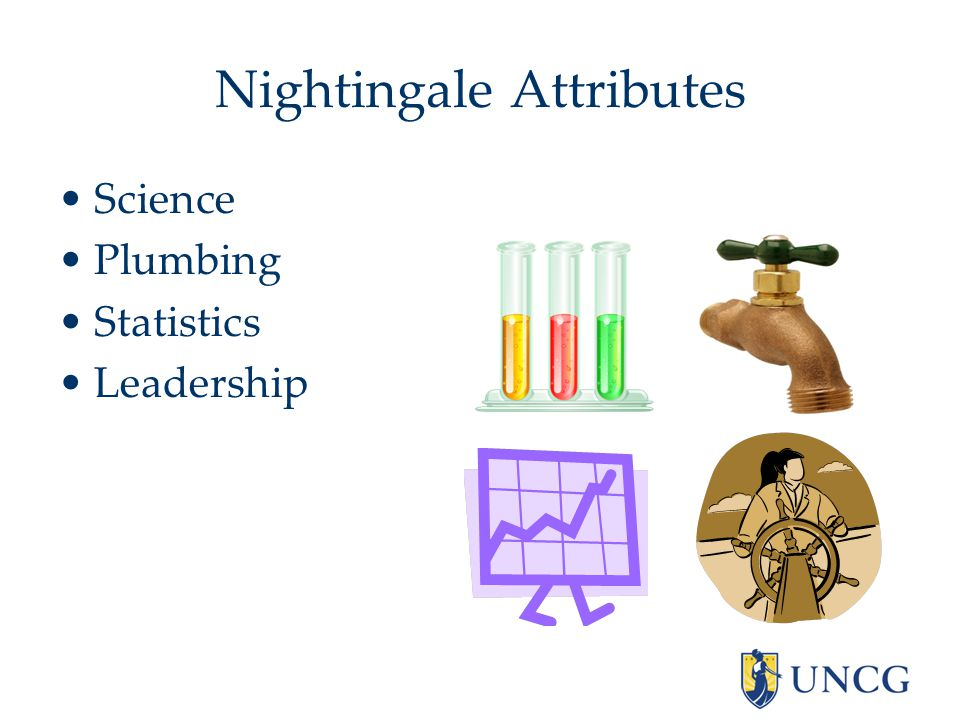 Nightingale Attributes Science Plumbing Statistics Leadership