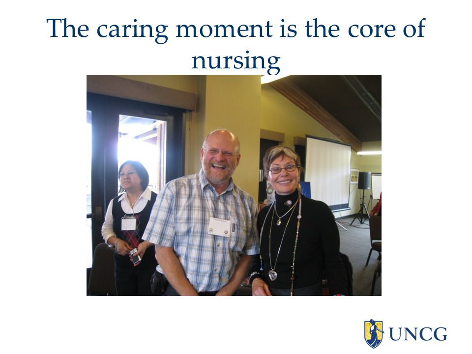 The caring moment is the core of nursing