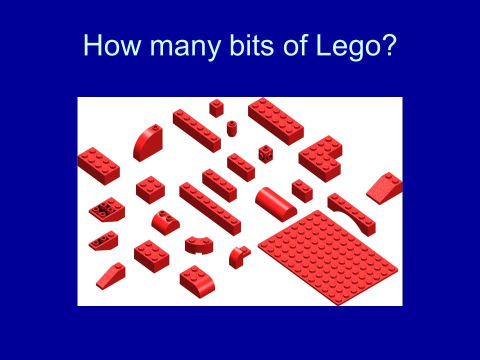 How many bits of Lego