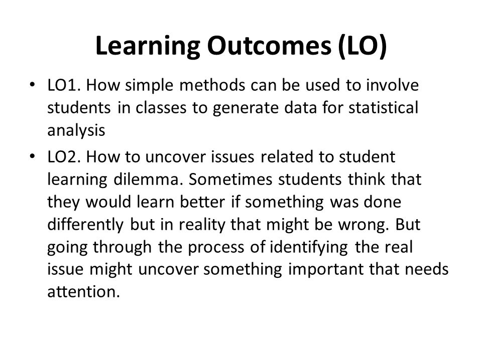 Conclusions and Discussion In our own study we identified that students do not see any difference data source can make in their learning statistical concept.