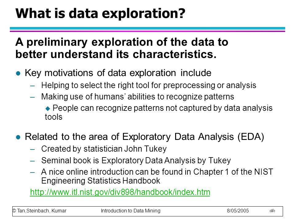 © Tan,Steinbach, Kumar Introduction to Data Mining 8/05/2005 13 Percentile Plots