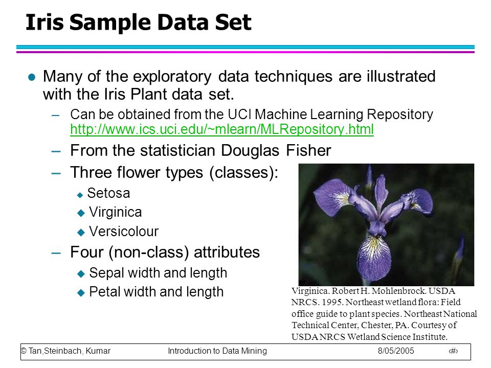 © Tan,Steinbach, Kumar Introduction to Data Mining 8/05/2005 40 Adjacency Matrices A more challenging example: