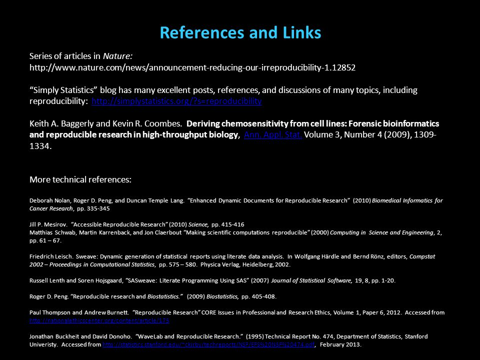 References and Links (McClelland, Elkington, Teplin, & Abram, 2004) (Teplin, Welty, Abram, Dulcan, & Washburn, 2012) (Cottle, Lee, & Heilbrun, 2001; M