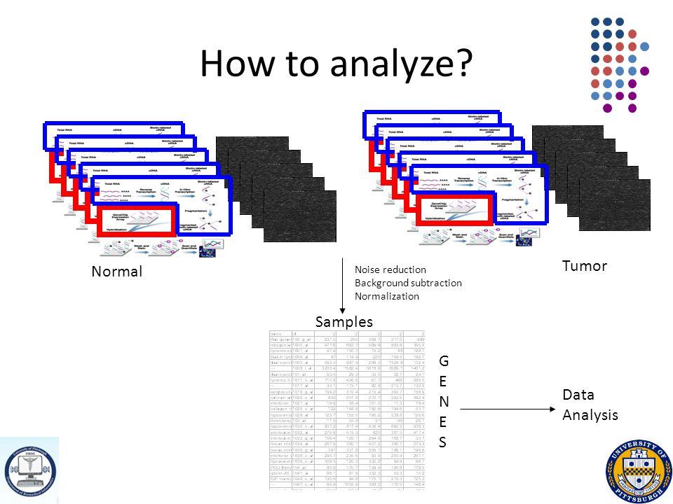 How to analyze.