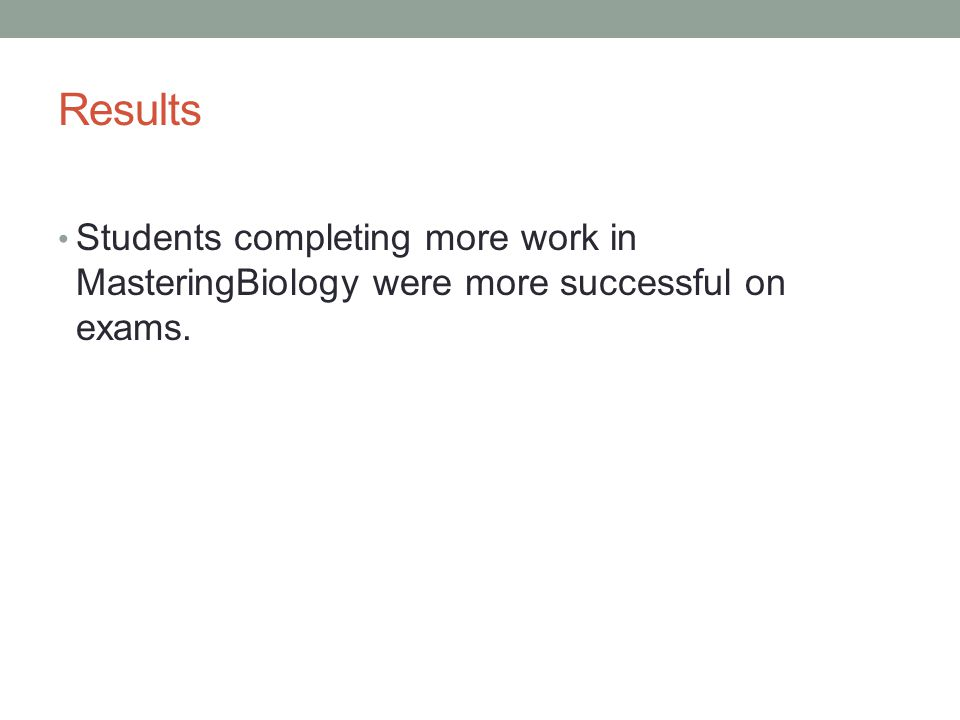 Benefits of Studying Student Success Data Allows you to identify what you are doing that is truly effective.