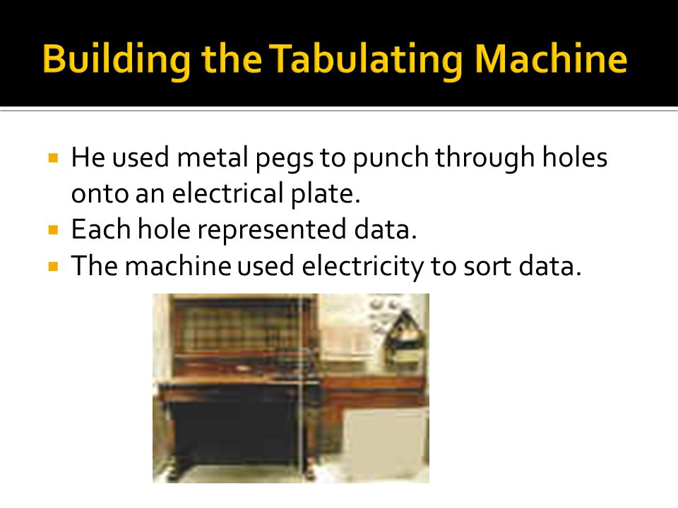  He used metal pegs to punch through holes onto an electrical plate.