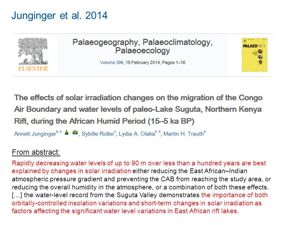 Junginger et al.