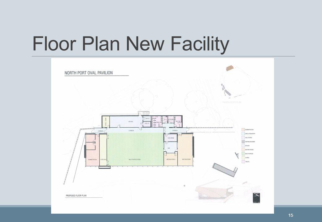 Floor Plan New Facility 15