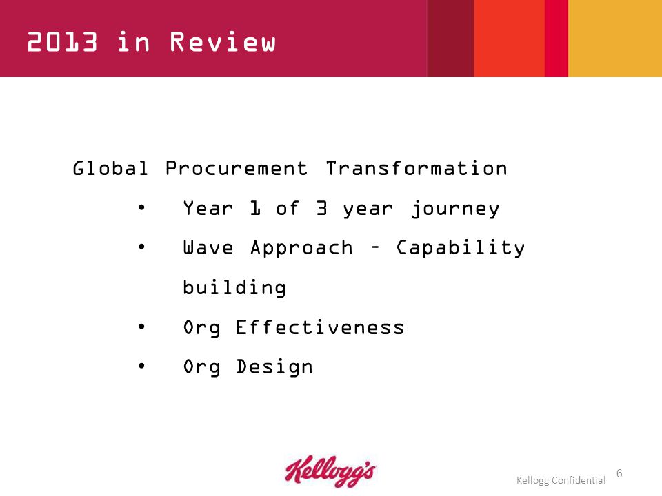 What is Global Procurement Transformation.
