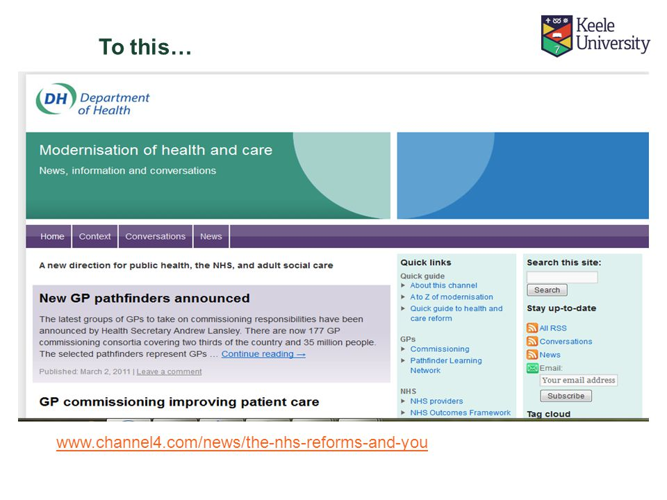 To this… www.channel4.com/news/the-nhs-reforms-and-you