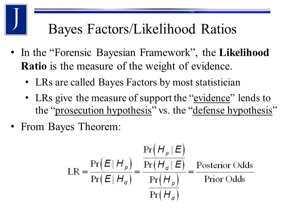 Bayes Factors/Likelihood Ratios Once the fits for the Empirical Bayes method are obtained, it is easy to compute the corresponding likelihood ratios.