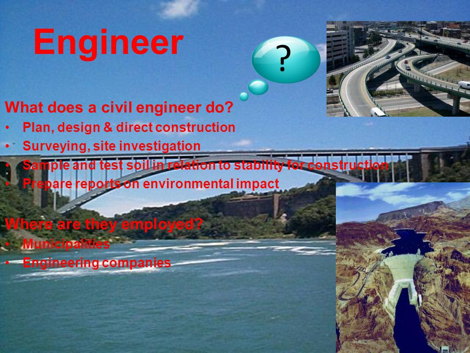 What does a civil engineer do.