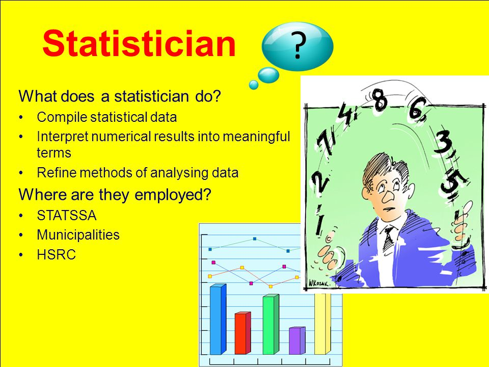 What does a statistician do.