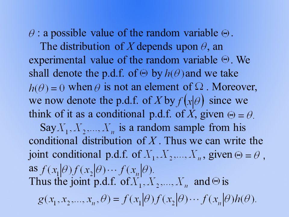 The likelihood function is The Rao-Cram é r inequality: ( )
