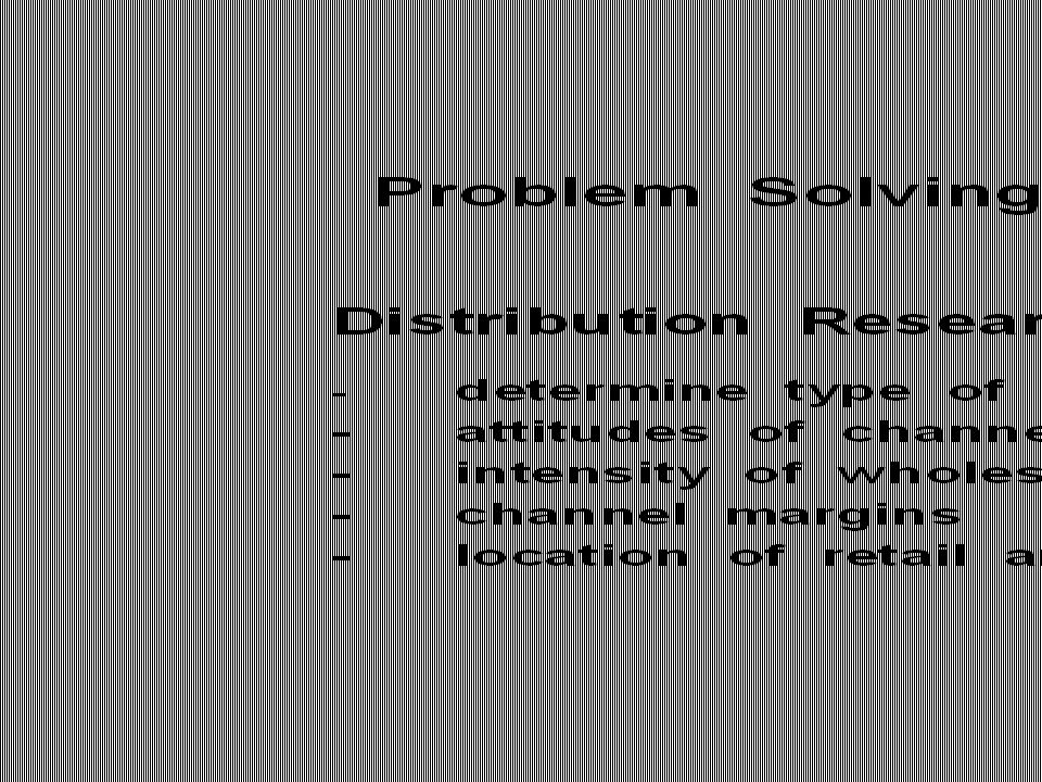 Table 1.1 Problem Solving Research (Cont.)Table 1.1 Problem Solving Research (Cont.)