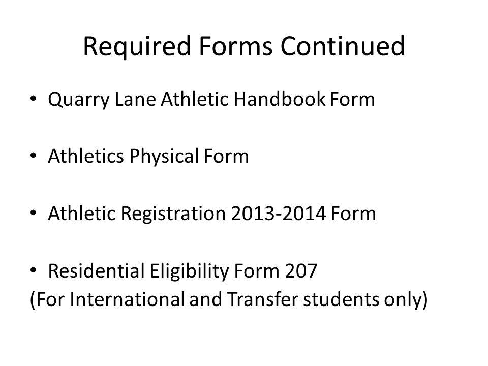 Athletic Fees Registration Fee: High School $200 Middle School $100 Uniform Cost: $150 Transportation: $0