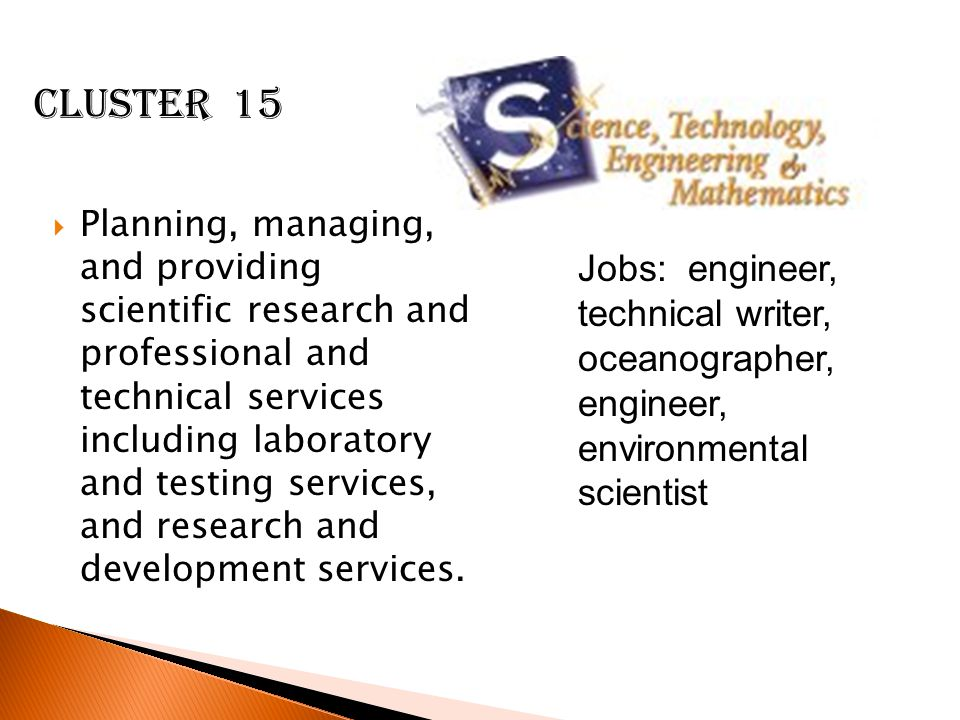  Planning, managing, and providing scientific research and professional and technical services including laboratory and testing services, and research and development services.