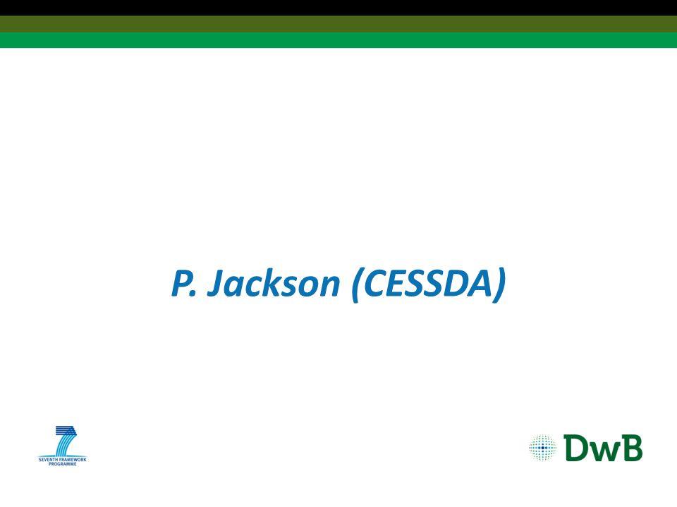 P. Jackson (CESSDA)