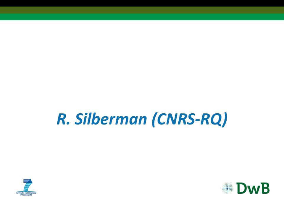 R. Silberman (CNRS-RQ)