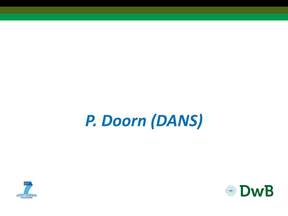 P. Doorn (DANS)