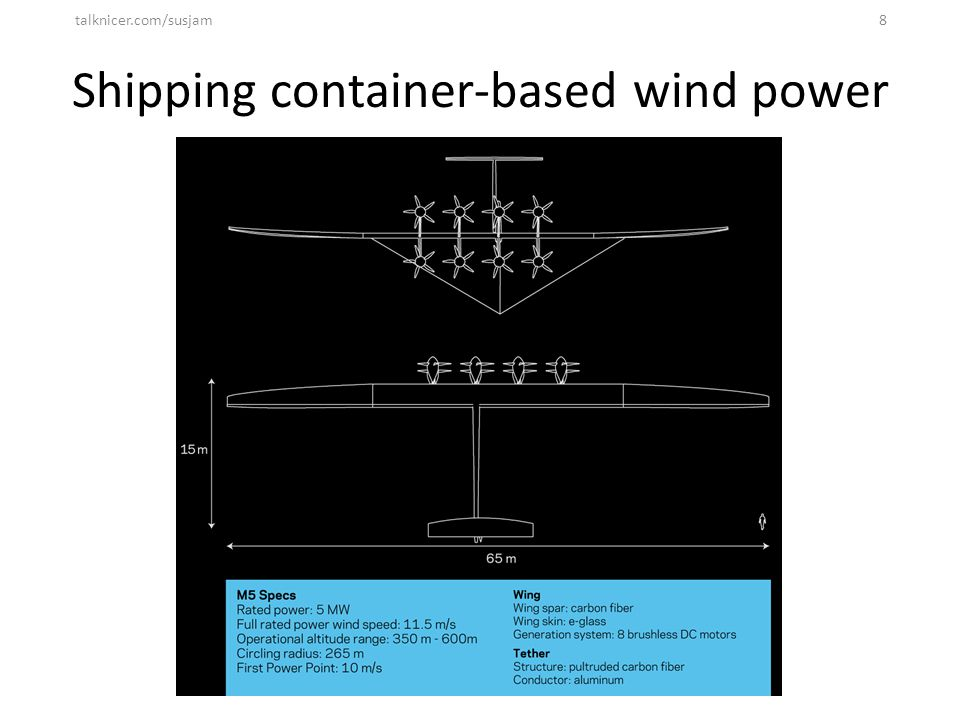 Shipping container-based wind power talknicer.com/susjam8