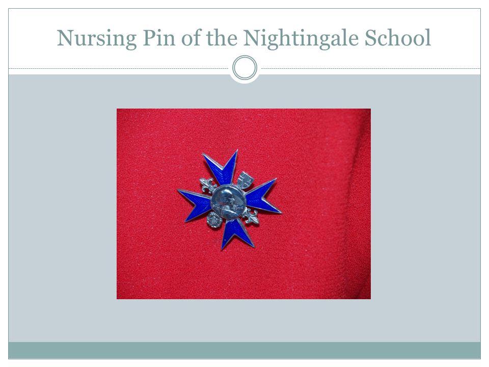 Nursing Pin of the Nightingale School
