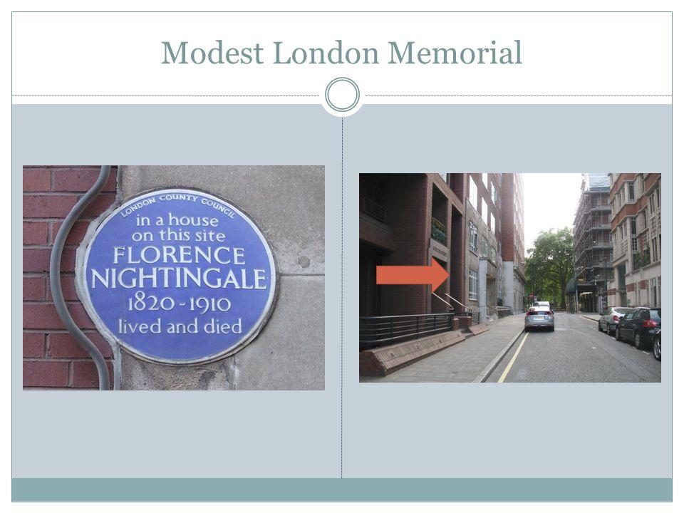 Modest London Memorial