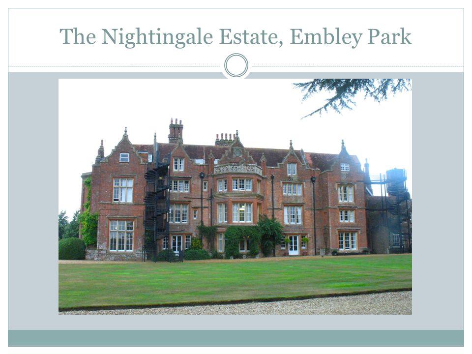 The Nightingale Estate, Embley Park