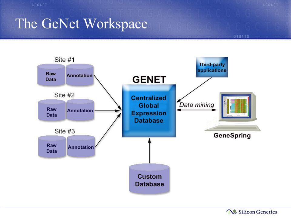 The GeNet Workspace