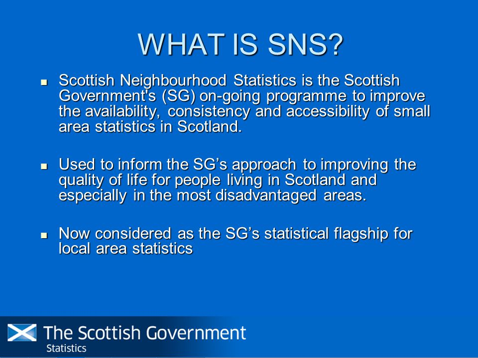 WHAT IS SNS.