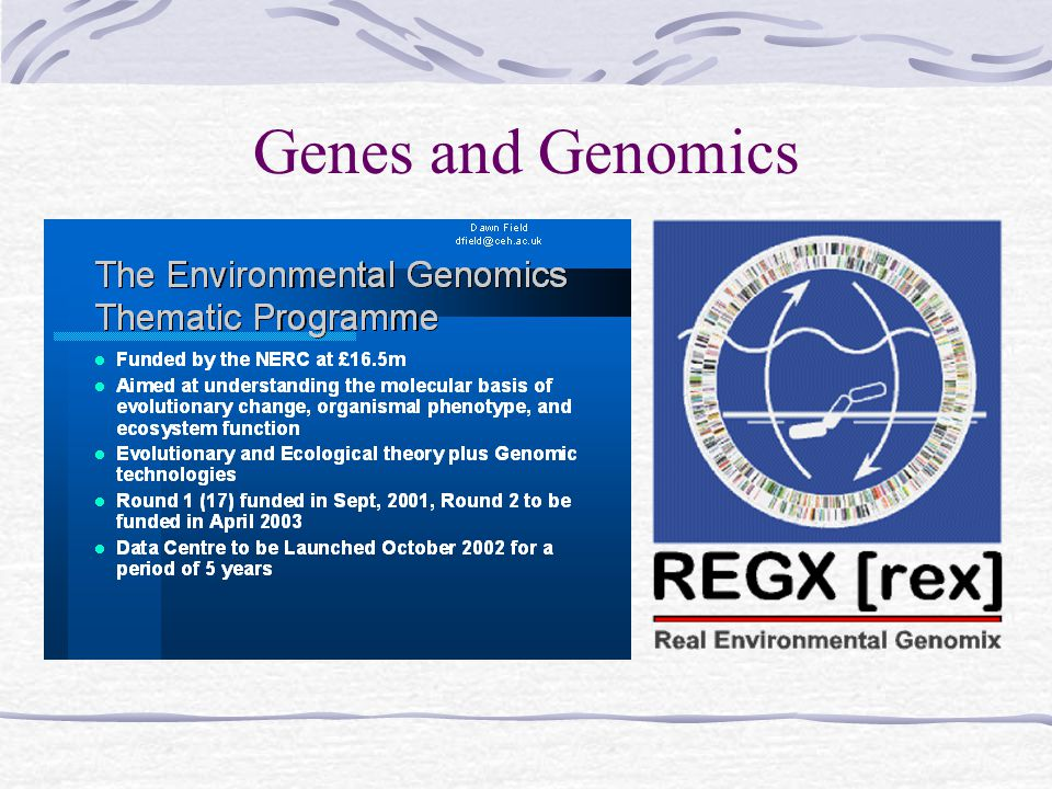DNA sequences Species abundances Benthic mapping Remote Sensing 1.Long term (10+) 2.Ph.D.