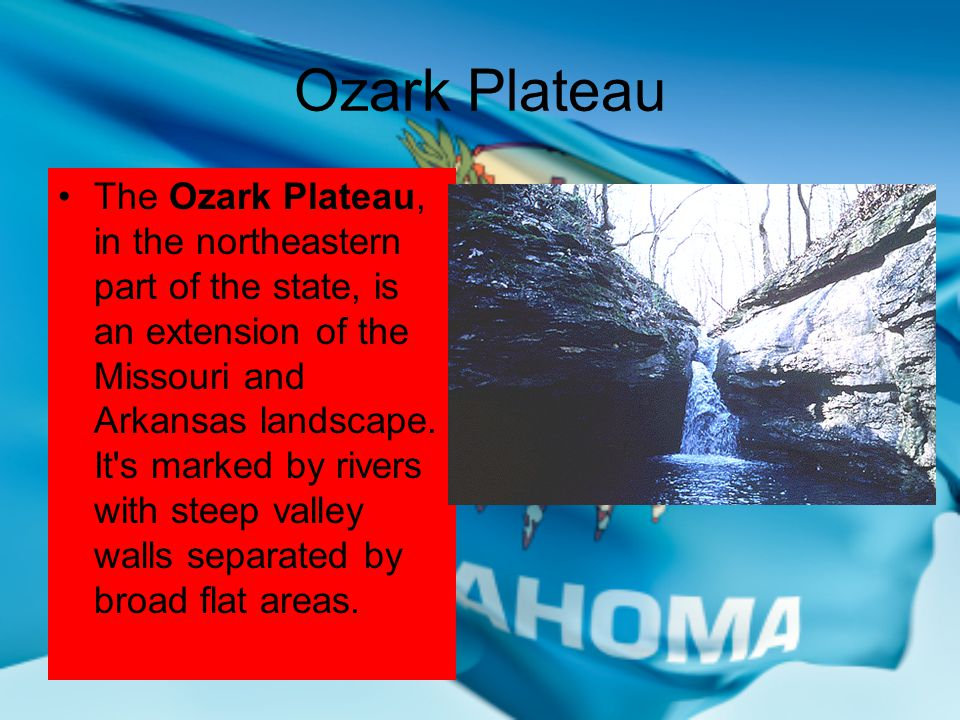 Oklahoma's Ten Geographical Regions