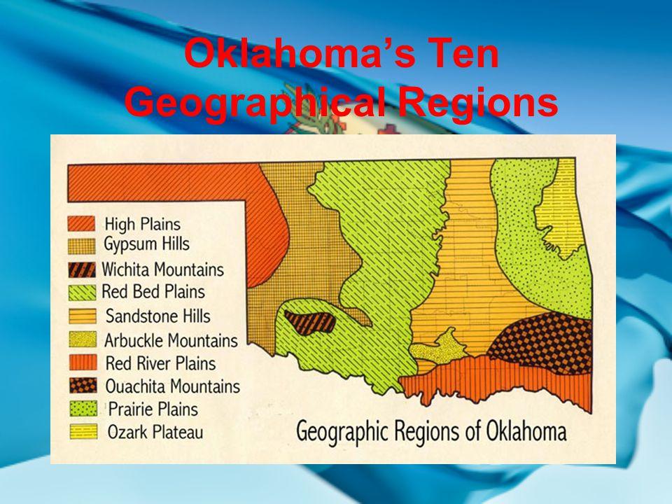 OKLAHOMA GEOGRAPHY WEBSITE http://geology.com/states/oklahoma.shtml