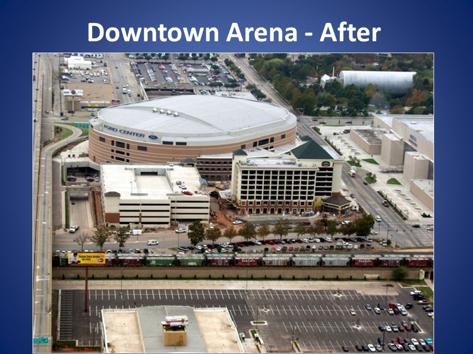 Downtown Arena - After