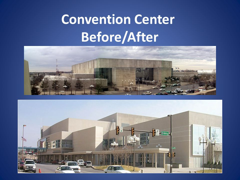 Convention Center Before/After