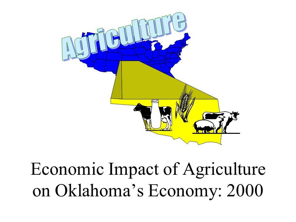 Economic Impact of Agriculture on Oklahoma's Economy: 2000