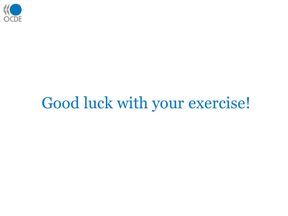 Good luck with your exercise!