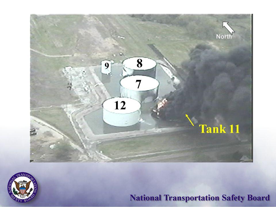12 7 8 9 Tank 11 North