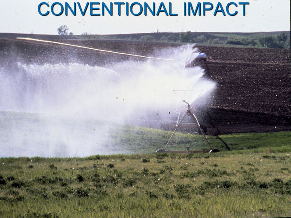 CONVENTIONAL IMPACT