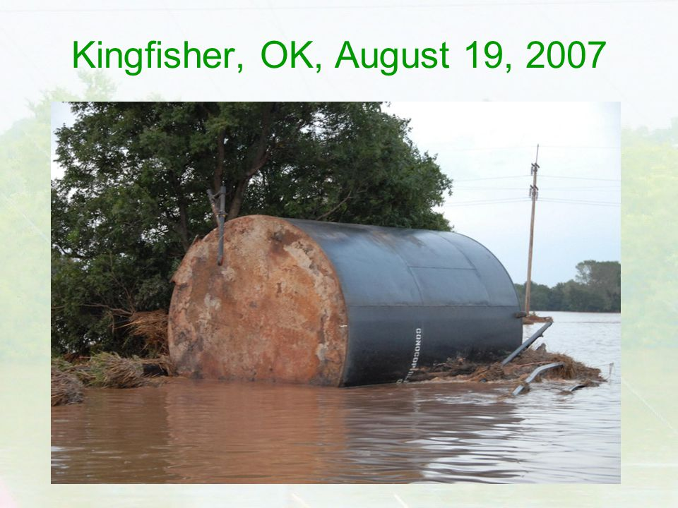Kingfisher, OK, August 19, 2007
