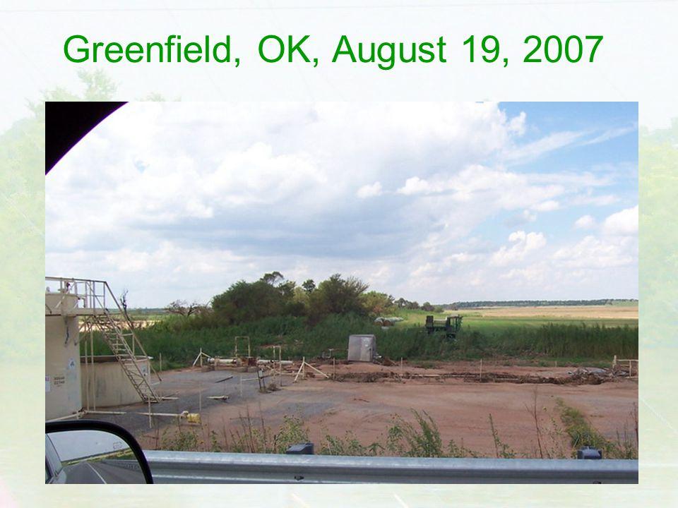 Greenfield, OK, August 19, 2007
