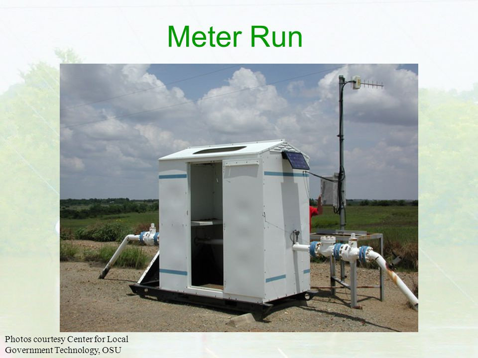 Meter Run Photos courtesy Center for Local Government Technology, OSU